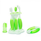 Summer Infant 6 Piece Oral Care Kit - Green