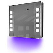 Ambient Demist Bathroom Cabinet With Sensor & Internal Shaver Socket K63U
