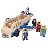 Melissa & Doug Plane and Luggage Carrier Set