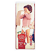 TESCO LOVES BABY EASY FIT SIZE 4 MAXI ECONOMY PACK - 42 PANTS