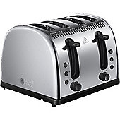 Russell Hobbs Legacy 4 Slice Toaster Polished Stainless Steel