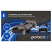 Controller Power Skin (Black) (PS4)