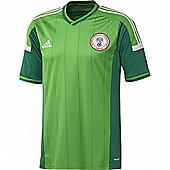 2014-15 Nigeria Home World Cup Football Shirt - Green