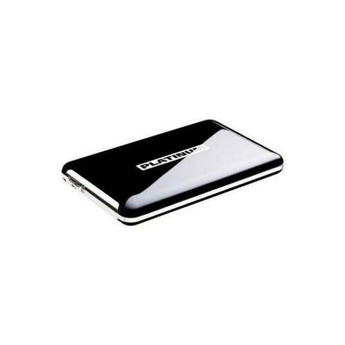 Platinum MyDrive External Hard Drive 2.5 Inch (6.4 cm) 320 GB HDD USB, Black