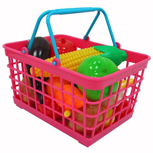 Cookin' For Kids 20 Piece Play Food Basket