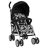 Lollipop Lane Stroller Domino (B/ W)