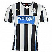 2013-14 Newcastle Home Football Shirt - White