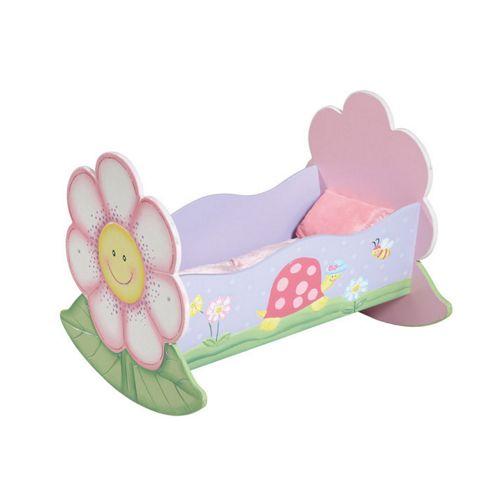 Teamson Magic Garden Dolls Rocking Bed