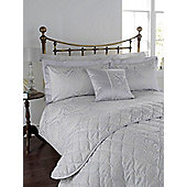 Linea Morris Jacquard Double Duvet Cover In Multi