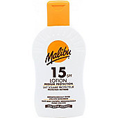 Malibu Sun Lotion SPF15 Medium Protection 200ml