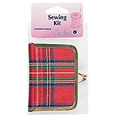 Hemline Tartan Purse Sewing Kit