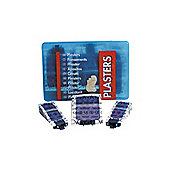 Wallace Cameron Blue Detectable Pilferproof Plasters Pack of 150 1206008