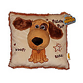 """15"""" Hand Puppet Pillow in 3 Animal Designs - Puppy"""