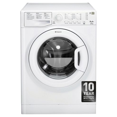 Hotpoint WMYL661P, Freestanding Washing Machine, 6Kg Wash Load, 1600 RPM Spin, A+ Energy Rating, White