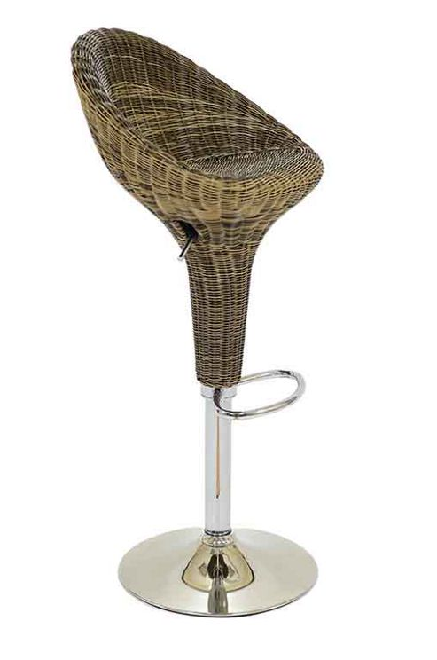 buy rattan high bar stool from our bar tables stools. Black Bedroom Furniture Sets. Home Design Ideas