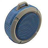 Goodmans GDWPBTSPK Bluetooth Waterproof Speaker - Blue/Grey