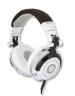 iFrogz Earpollution Mogul DJ Foldable Headphones Snow