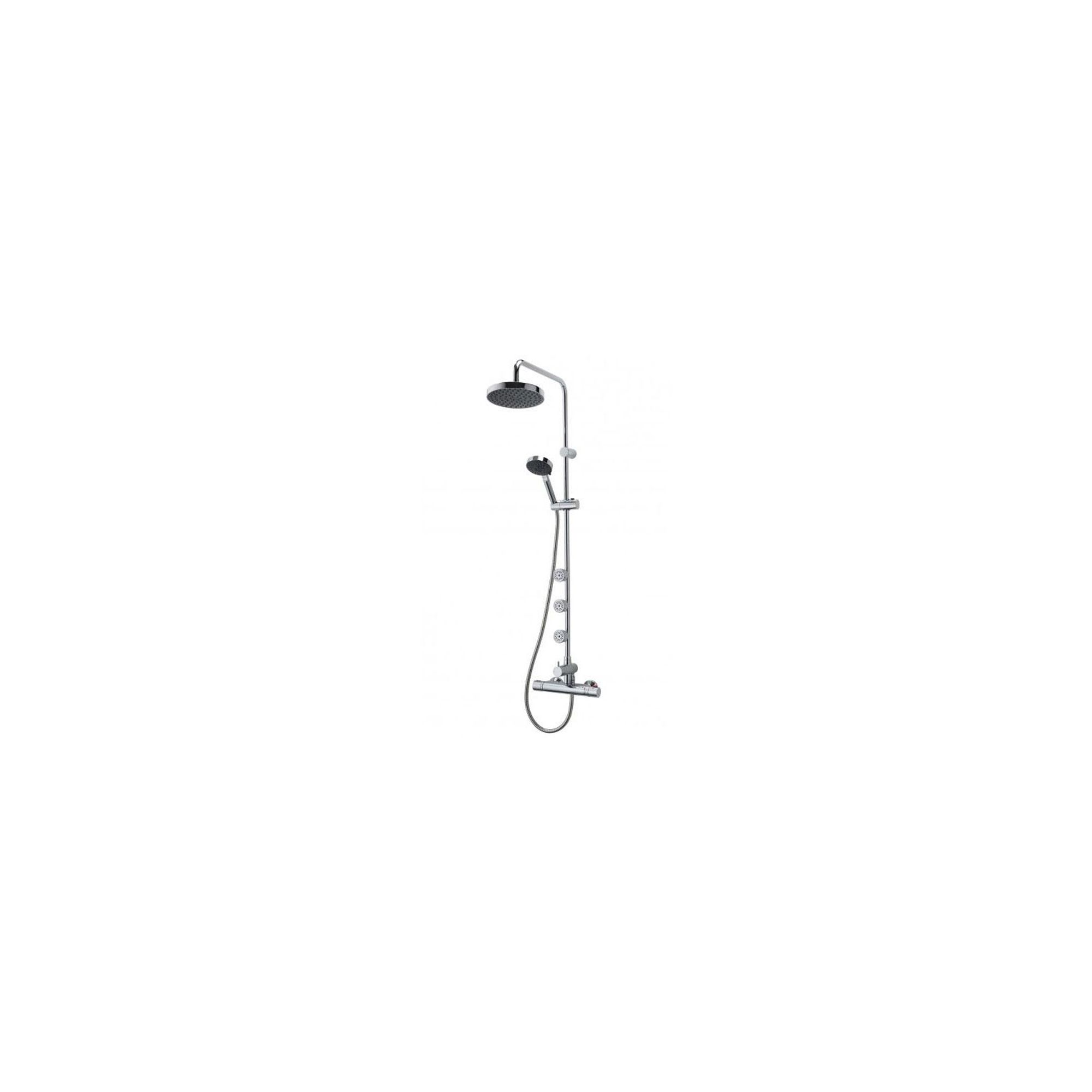 Triton Nene Thermostatic Bar Mixer with Diverter Chrome at Tesco Direct