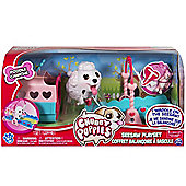 Chubby Puppies Seesaw Playset - Poodle
