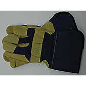 Kent Glo25 Leather Work Gloves Mens