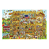Bigjigs Toys BJ016d Castle Floor Puzzle (192 Piece)
