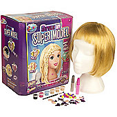 Style My Supermodel - Blond Hair Styling Head