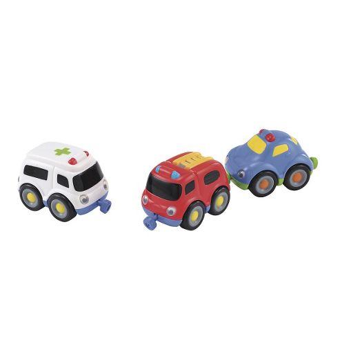 ELC Emergency Vehicle Magnetic Trio Set