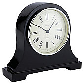 Tesco Napolean Black Mantle Clock