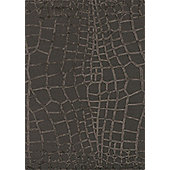 Angelo Harmony Brown Knotted Rug - 240cm H x 170cm W (7 ft 10.5 in x 5 ft 7 in)