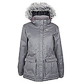 Kenai Womens Waterproof Tricot Lined Insulated Snowboarding Skiing Ski Jacket - Grey