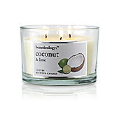Baylis and Harding Beauticology 3 Wick Candle, Coconut and Lime