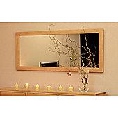 Elements Hereford Oak Mirror - Large