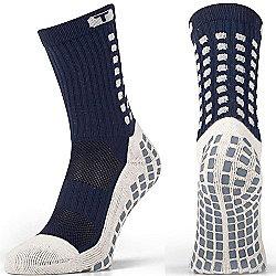Trusox Mid-Calf Sock Cushion Size L Navy