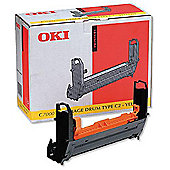 OKI 41304109 Yellow Image Drum for Okipage C7200/7400