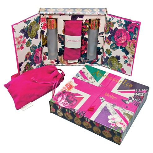 Accessorize Boho Fragrance Wardrobe 2 x 30ml EDT Spray & Fragrance Pouch Gift Set