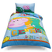 Peppa Pig George Single Duvet Set