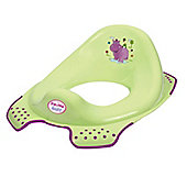 Hippo Toilet Training Seat Green