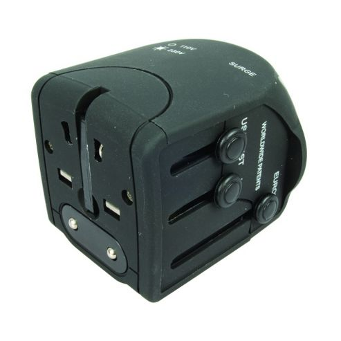 Surge Protected Worldwide Travel Adaptor