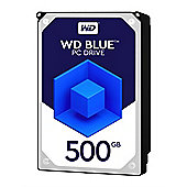 WD 500GB Blue 32 MB 3.5IN SATA 6 Gb/s Hard Drive