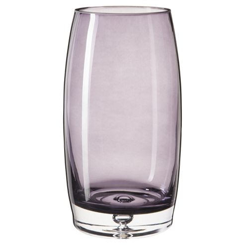 Tesco Heavy Base Vase Plum