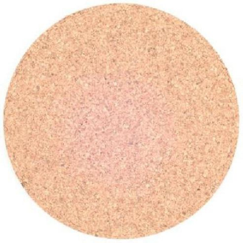Cork Mat 150mm dia 6mm thick cork. Pack of 5