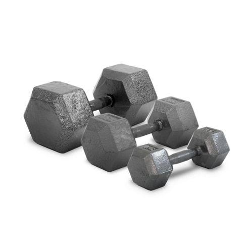 Bodymax Hammertone Hex Dumbbells - 2 x 10kg