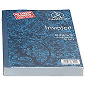 Challenge Duplicate Book Carbonless Invoice without VAT/tax 210x130mm Ref 100080526 [Pack 5]