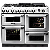 Hotpoint Cannon Dual Fuel Range Cooker, CH10750GFS, Stainless Steel