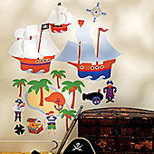Pirates Giant Children's Wall Stickers