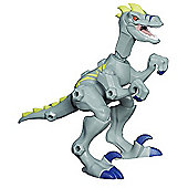 Jurassic World Hero Mashers Velociraptor (Grey) Animal Action Figure