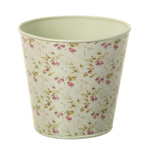 buy parlane lovely vintage metal flower plant pot with. Black Bedroom Furniture Sets. Home Design Ideas