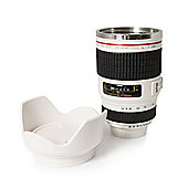 Twitfish Lens Mug with Lid - White