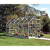 Halls 10x6 Popular Greenhouse + Base - Horticultural Glass