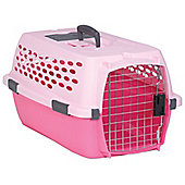 Petmate Medium Ultra Vari Kennel Pet Kennel Lady Pink and Dark Pink